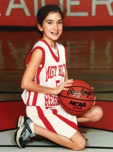 Hard to believe I was a single woman back then. Most eligible bachelorette on the 7th grade girls basketball team.