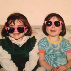 Me and my roommate back in the good old days. Man, we were so Hawaiian Punch wasted in this picture.