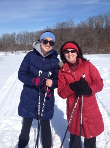 One time we decided to get up off the couch and go cross country skiing. That's a mistake we will never make again.